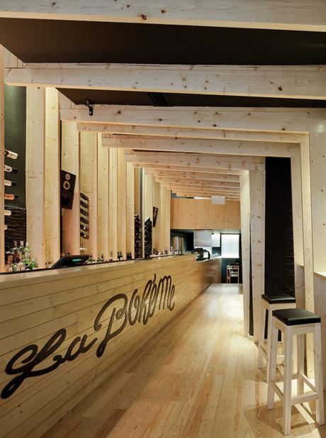 Cafe Tapas Restaurant La Boheme Oporto Portugal