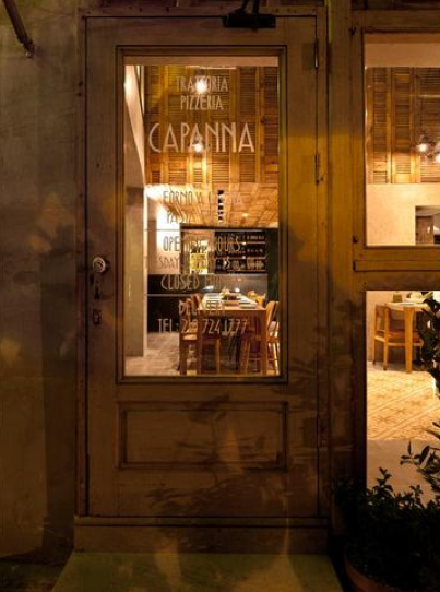 Pizzeria Capanna Atenas Grecia