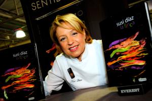 Susi Díaz, Restaurante La Finca
