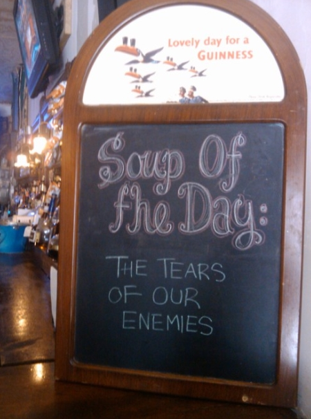 Pizarras de Restaurantes, Bares y Cafeterías