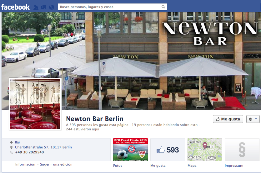 Bar Newton, Berlín