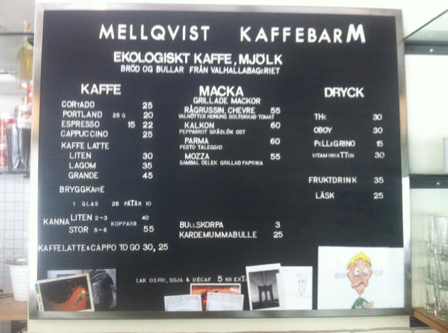 Mellqvits, Estocolmo