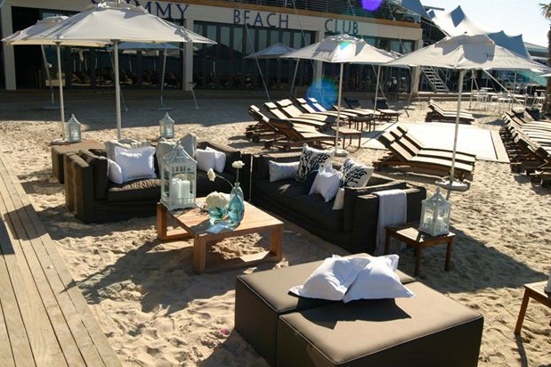 Top Bares de Playa Shimmy Beach Club, Cape Town, South Africa
