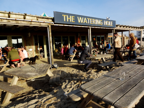Top Bares de Playa The Watering Hole, Cornwall, England