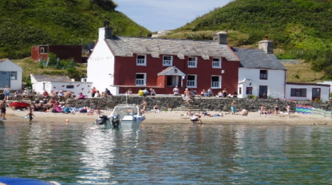 Top Bares de Playa Ty Coch Inn, Porthdinllaen, Wales