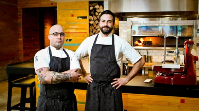 Chef Seth Siegel-Gardner y Chef Terrence Gallivan