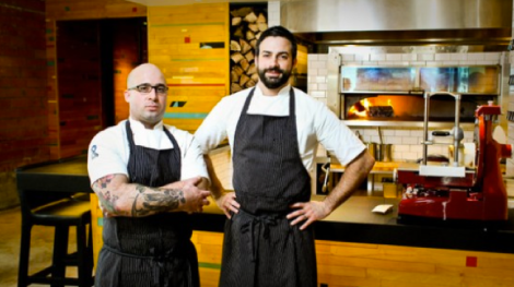 Chef Seth Siegel-Gardner y Chef Terrence Gallivan