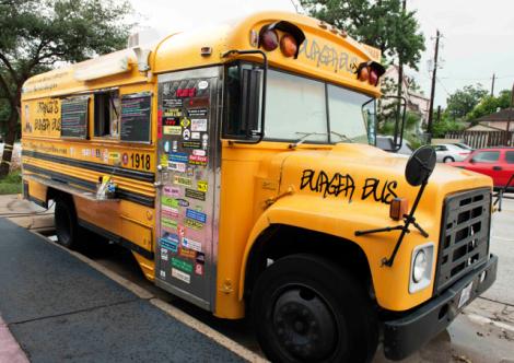 Food Truck Bernies Burguer Bus, Huston