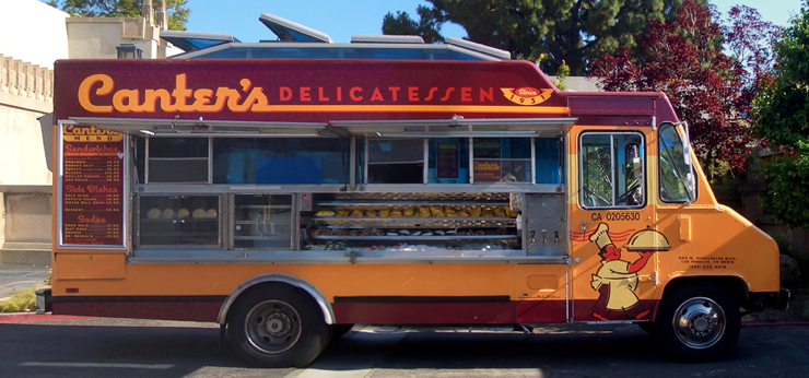 Food Truck Canter´s Delicatessen, USA
