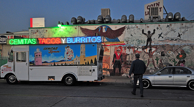 Food Truck Cemitas, tacos y burritos