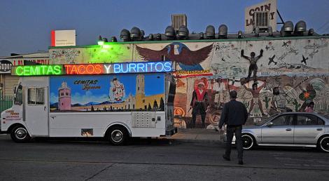 Food Truck Cemitas, tacos y burritos