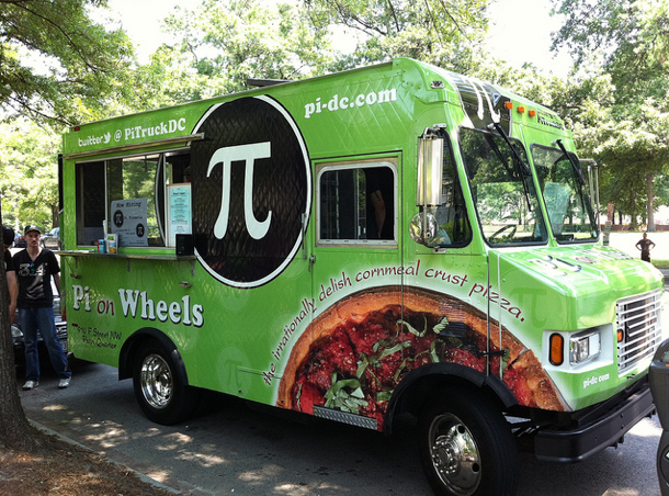 Food Truck Pi Pizza, USA