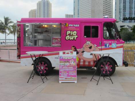 Food Truck Pig Out, USA