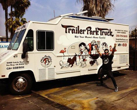 Food Truck Trailer Park Truck, USA