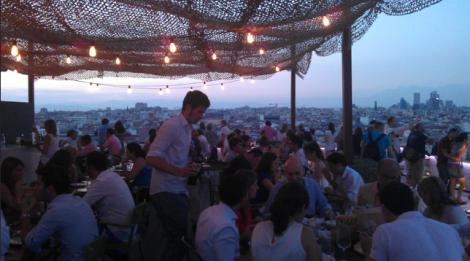 Pop Up Restaurant Tartan Roof Madrid