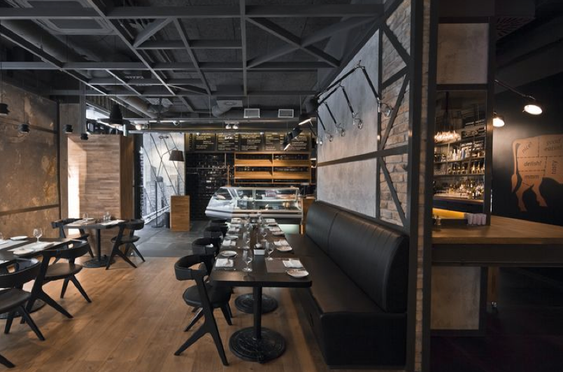 KNRDY – american steakhouse and bar Budapest