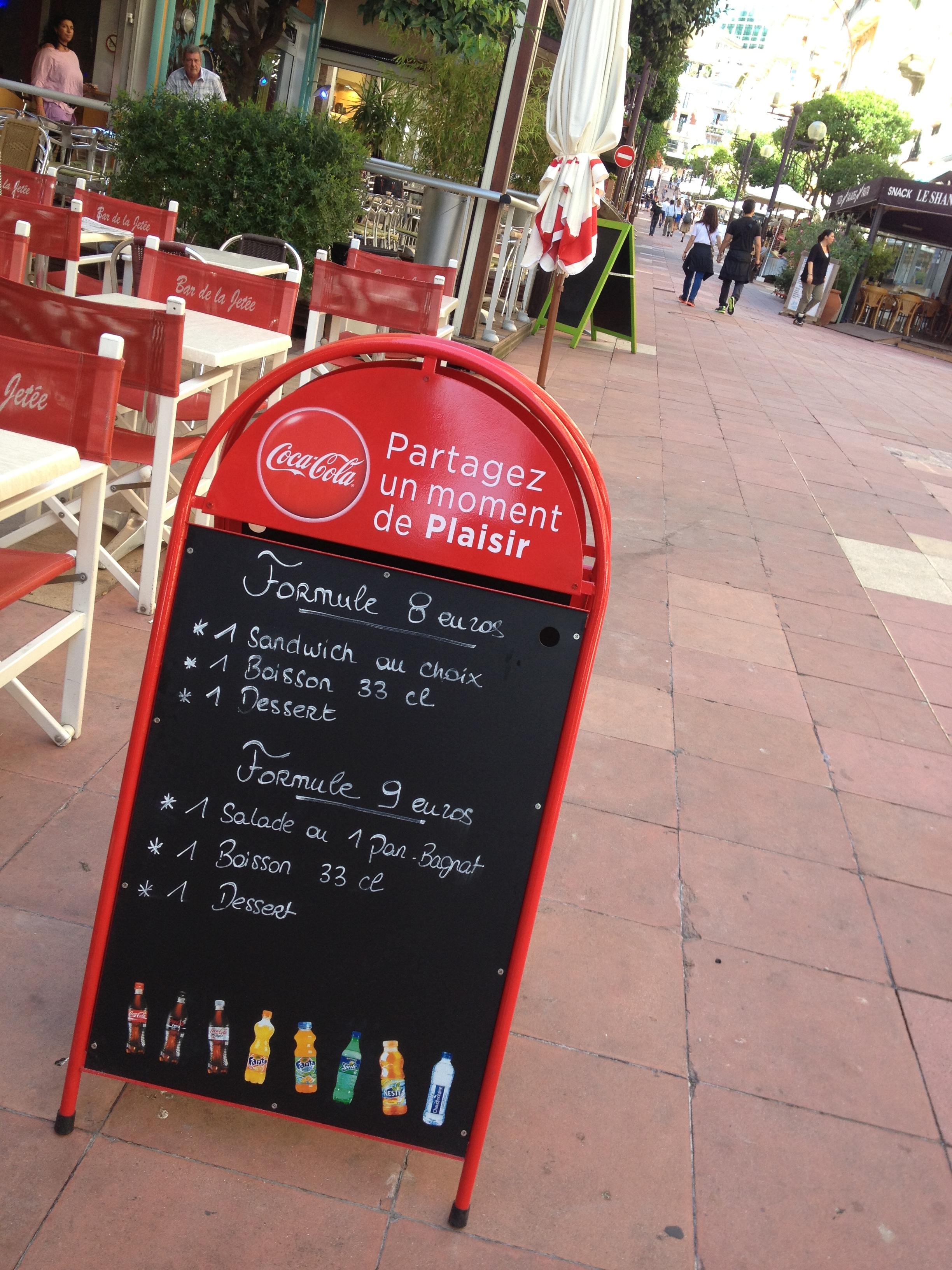 Pizarras de restaurantes y bares del mundo