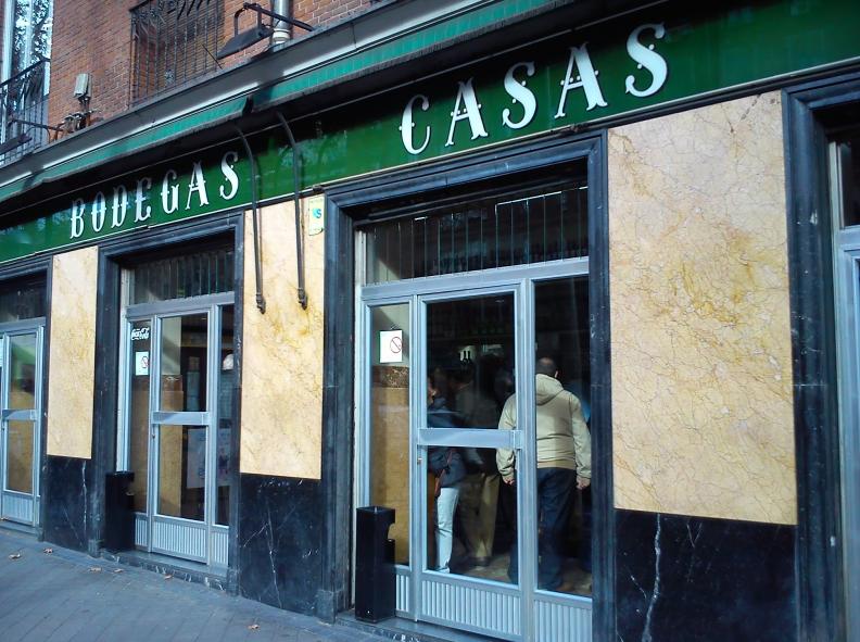 Vermut Bodegas Casas en Madrid, foto de mistabernasfavoritas.blogspot.com.es