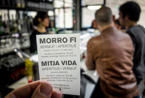 Vermut en el Mitja Vida! de Barcelona, foto de inandoutbarcelona.net