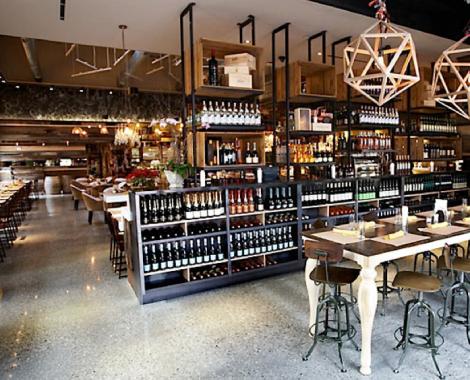 Interiorismo industrial para restaurantes, bares y cafeterías