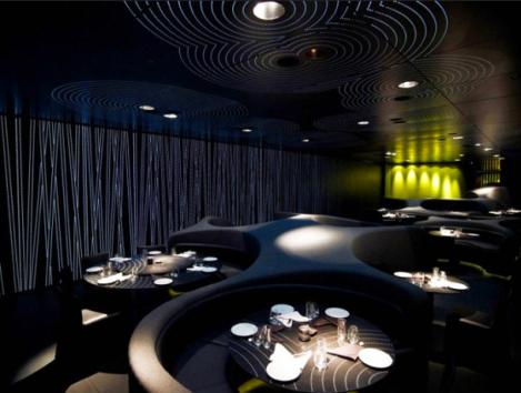 Formas orgánicas, una de las muchas tendencias en interiorismo para restaurantes, bares y cafeterías