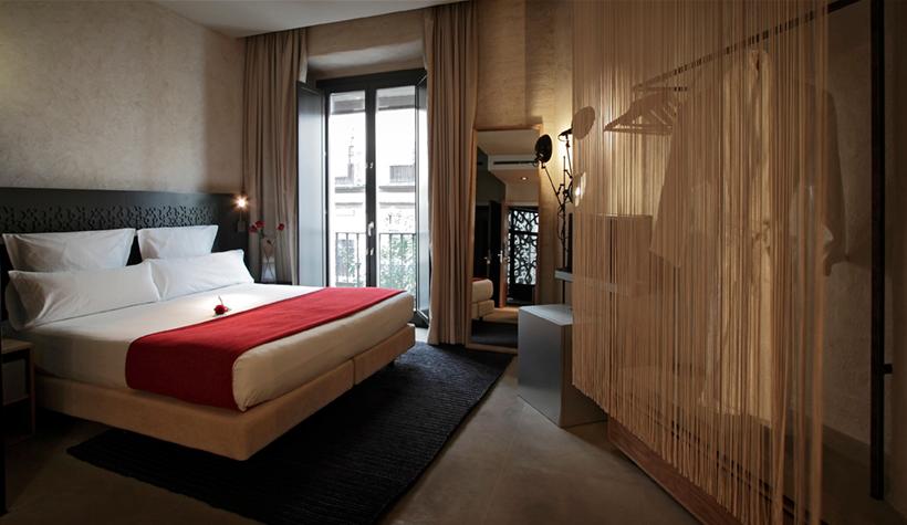 Interiorismo de Sandra Tarruella, Hotel Eme en Sevilla