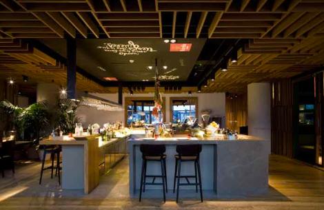 Interiorismo Sandra Tarruella, Barra Restaurante Bravo 24, Barcelona 2012
