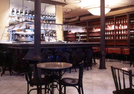 Interiorismo Sandra Tarruella, Café Schilling,  Barcelona 1997