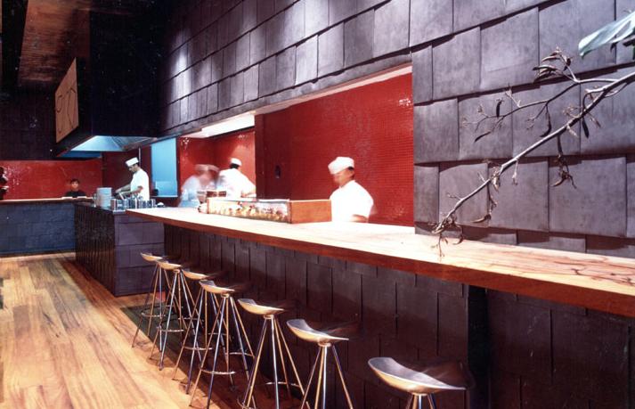 Interiorismo Sandra Tarruella, ELJAPONES, Barcelona 1999