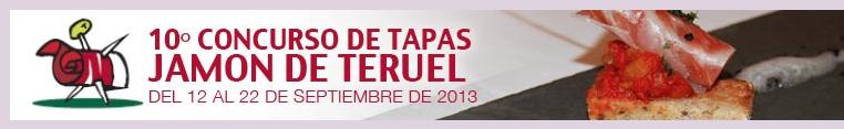 Ruta del Concurso Provincial de Tapas Jamón de Teruel, del 12 al 22 de septiembre