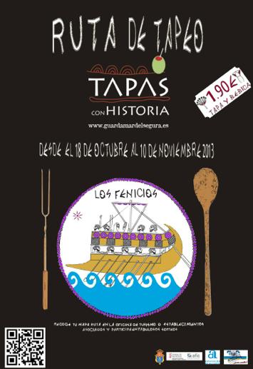 Ruta Tapas con Historia, Guardamar, del 8 de octubre al 4 de noviembre