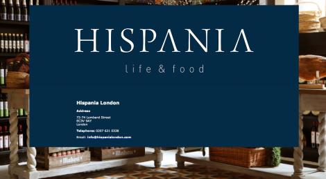 SSGastronomika, chefs españoles en Londres. Hispania