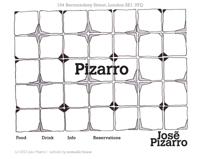 SSGastronomika, chefs españoles en Londres. Pizarro