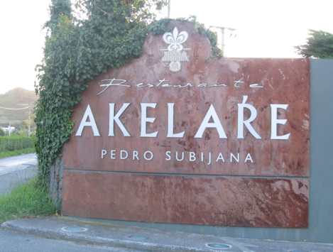 SSGastronomika, los menus. Akelarre, Pedro Subijana