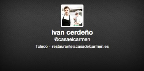 Twitter Ivan Cerdeño