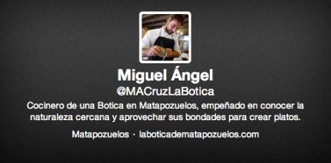Twitter Miguel Angel La Botica