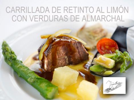 Zahara de los Atunes, Ruta del Retinto, Carrillada de Retino al Limón con Verduras de Almarchal