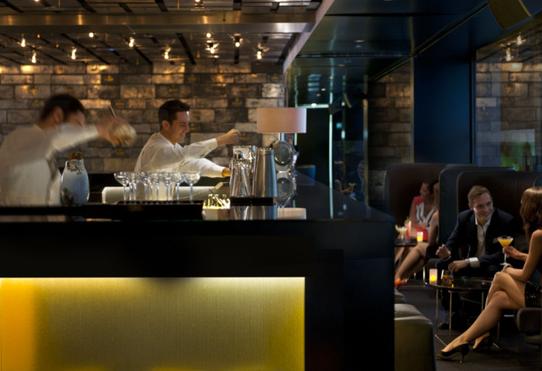 Bares de Barcelona. Banker's Bar del Hotel Mandarin Oriental