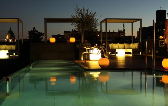 Bares de Barcelona. Chill Out del Hotel Ohla