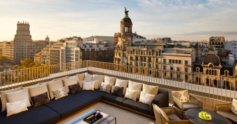 Bares de Barcelona. La terraza del Hotel Mandarín Oriental y su panorámica de lujo