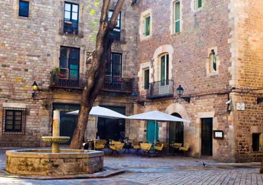 Bares de Barcelona. Lounge Bar del Hotel Neri