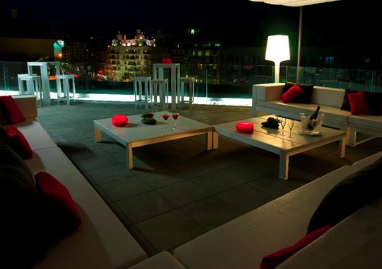 Bares de Barcelona. Terraza Alaire del Hotel Condes de Barcelona