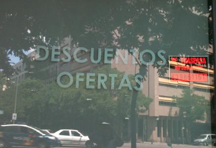 Lo siguiente a una política de Descuentos y Ofertas, el cartel de Se Traspasa