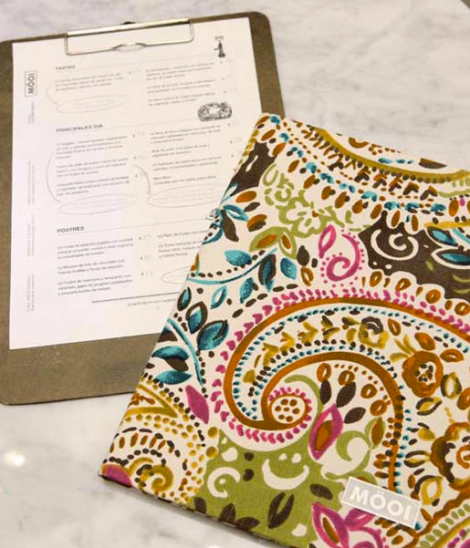 Cartas de Menú para Restaurantes. möoi contemporaneous food