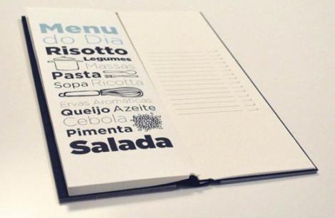 Cartas de Menú para Restaurantes. Riso8 Restaurant
