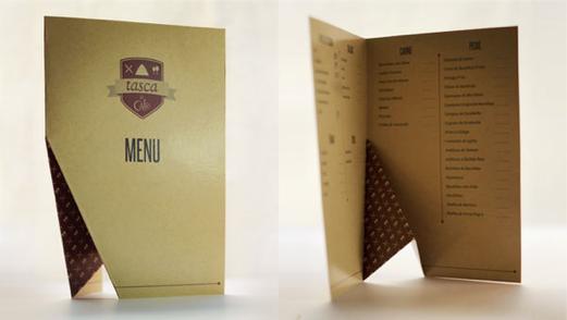 Dise o de cartas y men s para restaurantes fotos eva for Disenos de menus para restaurantes