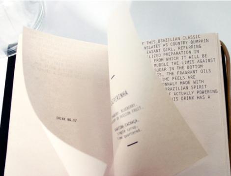 Cartas de Menús para Restaurantes. The Surf Lodge