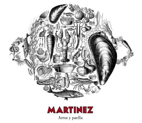 Martínez de Barcelona, chiringuito de lux en el Paseo Miramar