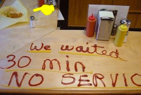 Reclamaciones en bares, restaurantes y cafeterías