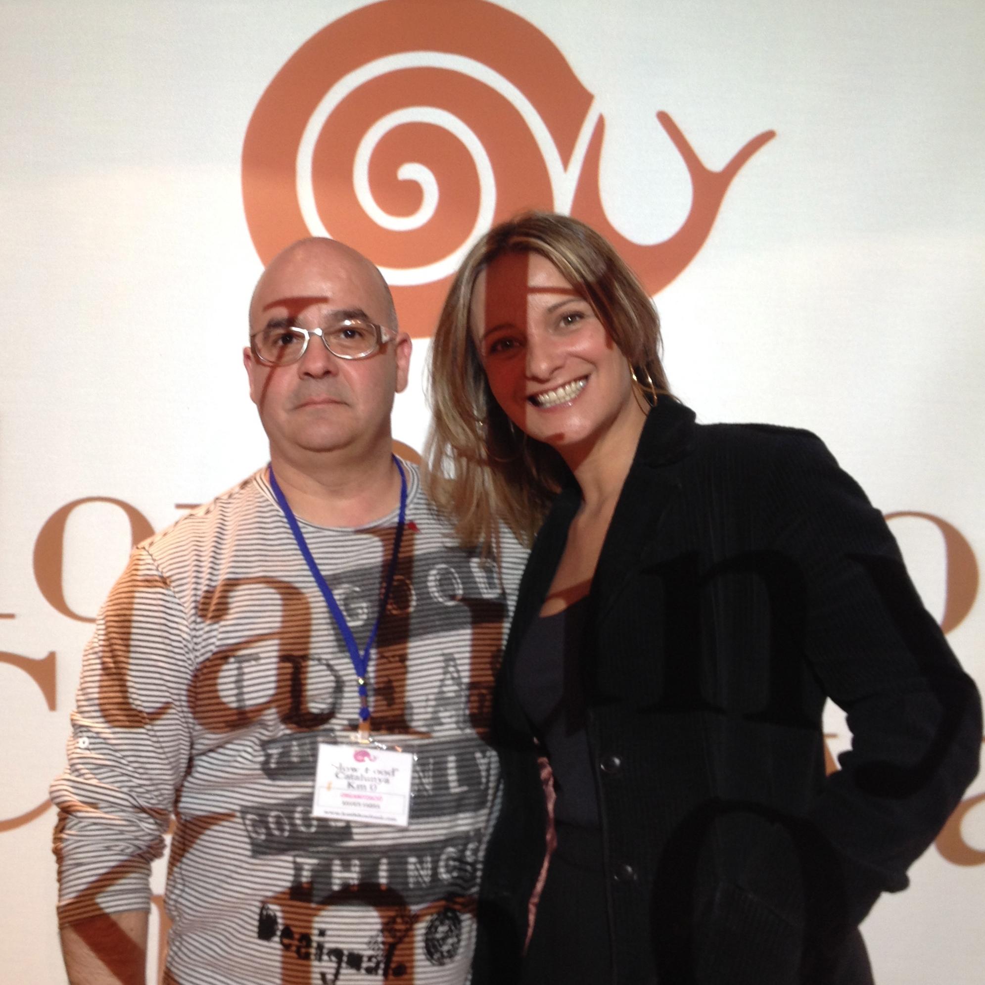 Xavi Fabra del Quinta Forca y coordinador del Convivium Tarraco